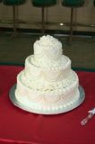 Wedding Cake. A simple design of a wedding cake in three layers Stock Photography