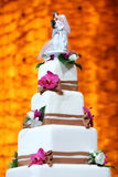Wedding cake Royalty Free Stock Images