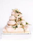Wedding cake. Beautiful wedding cake to celebrate that special day Royalty Free Stock Photos
