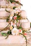 Wedding cake. Beautiful wedding cake to celebrate that special day Stock Photo