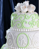 Wedding cake. Decoration Royalty Free Stock Image