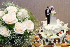Free Wedding Cake Stock Photos - 635513