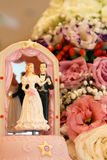 Wedding Cake Bride And Groom Stock Photography