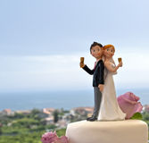 Wedding cake Royalty Free Stock Image
