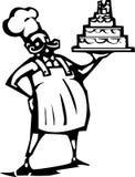 Wedding cake Chef Royalty Free Stock Photo
