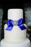 Wedding cake closeup Royalty Free Stock Images
