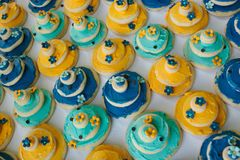 Wedding Cake Cookies Royalty Free Stock Photos