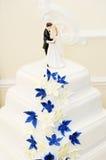 Wedding cake decoration Stock Photos