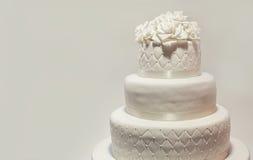 Wedding Cake Decoration Stock Photography