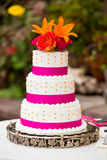 Wedding Cake Detail Royalty Free Stock Photography