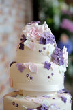 Wedding cake detail Stock Photos