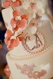 Wedding cake details Royalty Free Stock Photography