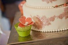 Wedding cake details Royalty Free Stock Image