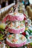 A wedding cake Stock Photo