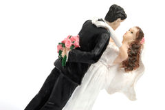 Wedding Cake Figurine Stock Photo