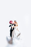 Wedding Cake Figurine Stock Images