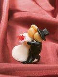 Wedding Cake Figurine Royalty Free Stock Image