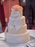 A wedding cake Royalty Free Stock Photo