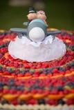 Wedding Cake of Fruits Royalty Free Stock Photos