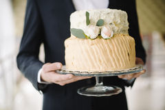 A wedding cake Royalty Free Stock Image
