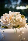 Wedding cake Iceing Flower Royalty Free Stock Photography