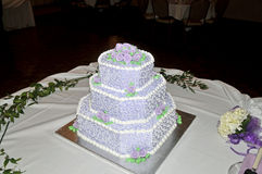 Wedding cake. Image of a 3 tier wedding cake Stock Image