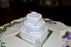 Wedding cake. Image of a 3 tier wedding cake stock image