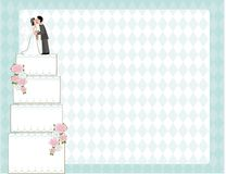 Wedding Cake Invite Stock Images