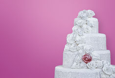 Wedding cake picture Stock Images