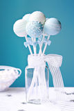 Wedding cake pops Stock Images