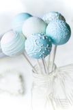 Wedding cake pops stock photo