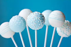 Wedding cake pops Stock Photos