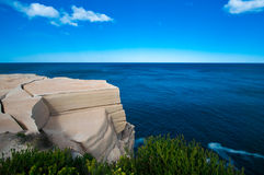 Wedding cake rock feature stock images