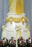 Wedding cake specially decorated.Detail 5 Royalty Free Stock Photo