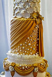Wedding cake specially decorated.Detail 29 Stock Images