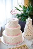 A wedding cake Stock Photography