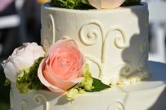 Wedding cake time Royalty Free Stock Image