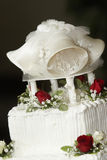 Wedding cake top Royalty Free Stock Image