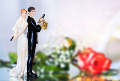 Wedding Cake topper Royalty Free Stock Photo