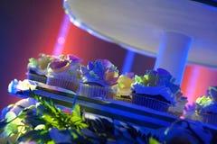 The wedding cake was light Stock Photo