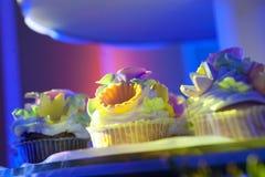 The wedding cake was light Stock Photos