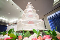 Wedding Cake for wedding ceremony Royalty Free Stock Photos
