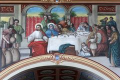 The Wedding at Cana Stock Image