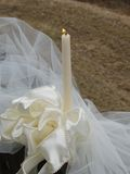 Wedding Candle Royalty Free Stock Images