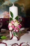 Wedding candle Royalty Free Stock Photo