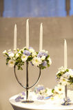 Wedding candlestick Stock Images