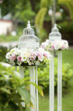 Wedding candlestick Royalty Free Stock Image
