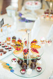 Wedding Candy bar Royalty Free Stock Images