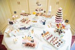 Wedding Candy bar Royalty Free Stock Photo