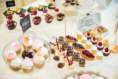 Wedding Candy bar Stock Photo